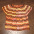 Handmade knit baby vest