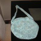 Crochet cotton bag