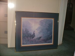 Wild Turkey Lithograph (Grant Mac Donald)  Limited edition
