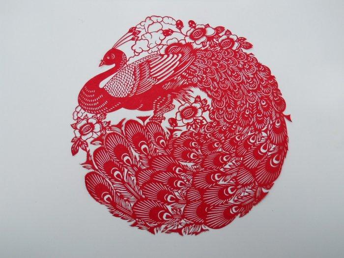 phoenix paper cut
