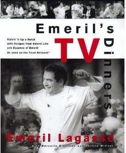 EMERIL'S TV DINNERS COOKBOOK  (HARD COVER)