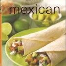 PERFECT MEXICAN COOKBOOK (HARD COVER)