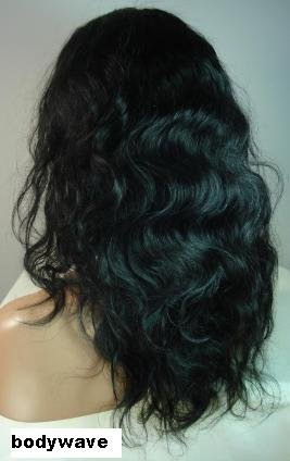 "10"" Bodywave Full Lace Wig Indian Remy"