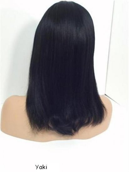 """12"""" Yaki Full Lace Wig Indian remy"""