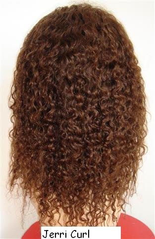 "12"" Jerri Curl Full Lace Wig"