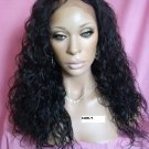 "16"" Curly Full Lace Wig Indian Remy"