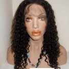 "16"" Jerri Curl Full Lace Wig Indian Remy"