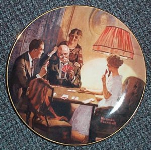 """Norman Rockwell """"This is the Room that Light Made"""" Plate"""