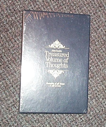 Treasured volume of thoughts