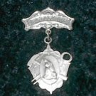 Vintage Our Lady of La Salette Pin
