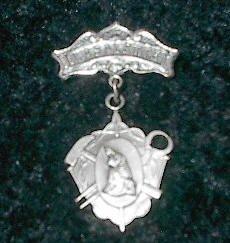 Vintage Our Lady of La Salette Pin