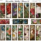 Microslides Shabby Flowers #1