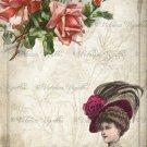 "8x10"" Digital Image: Lady Rose #1"
