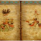 "8x10"" Digital Image: Medieval Knights Bookspread #1 (PNG)"