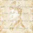 "8x10"" Digital Image: French Lady #6d"