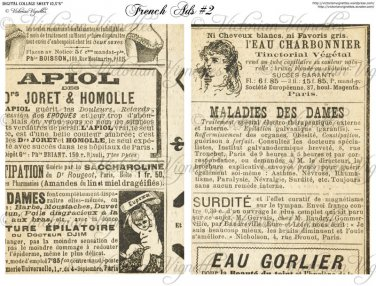"""5x7"""" Images: French Ads #2"""