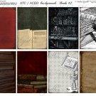ATC/ACEO backs: Books #2