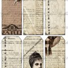 Shabby Cute French Tags #1