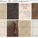 ATC/ACEO backs: ATC backgrounds #2