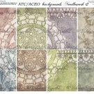 ATC/ACEO backs: Needlework #2