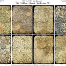 ATC/ACEO backs: The William Morris Collection #6