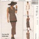 Misses' Unlined Jacket, Dress and Skirt size 10-12-14 Uncut