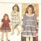 Butterick 4677 Vintage Girls Dress size 5, 6, 6x Uncut