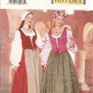 Butterick P413 Misses' Historical Costume size 6, 8, 10 Uncut