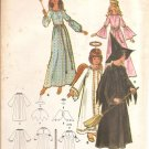 Vintage Butterick 4938 Misses Costumes Witch, Angel, Fairy, Princess size 8 Uncut