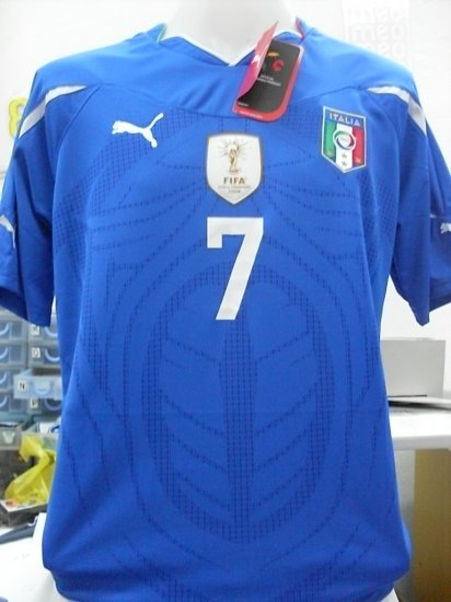 ITALY HOME + WC2010/Champion+ *7 Del piero   M/XL