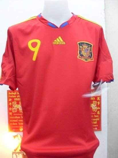 SPAIN home new WC + wc2010 + *9 TORRES  M / L / XL
