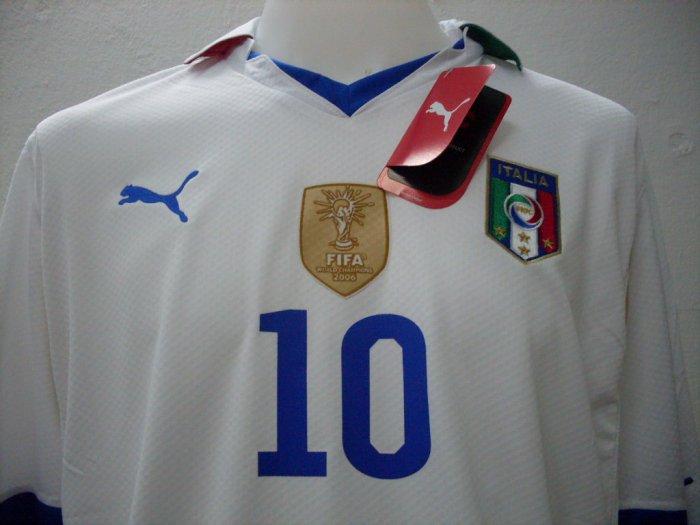 New WC2010 ITALY [AWAY]  + WC2010 + * 7 Del Piero M/XL