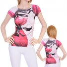 White/Pink Ladies Top