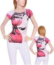 White/Pink Ladies Top