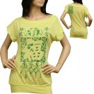 "Neon Green ""HAPPINESS"" Top"