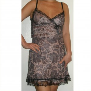 Moschino $1,017 amazing silk and lace couture dress