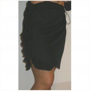 Doo Ri just gorgeous flirty black ruffled Skirt, 6