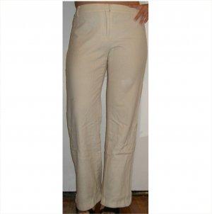 Bill Blass ultra classic ivory wool pants, 4