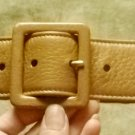 Yves Saint Laurent butter-like leather belt