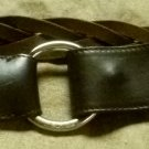 Authentic Lora Piana braided leather belt