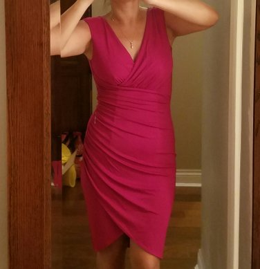 $1800 Michael Kors COLLECTION stunning ruched dress