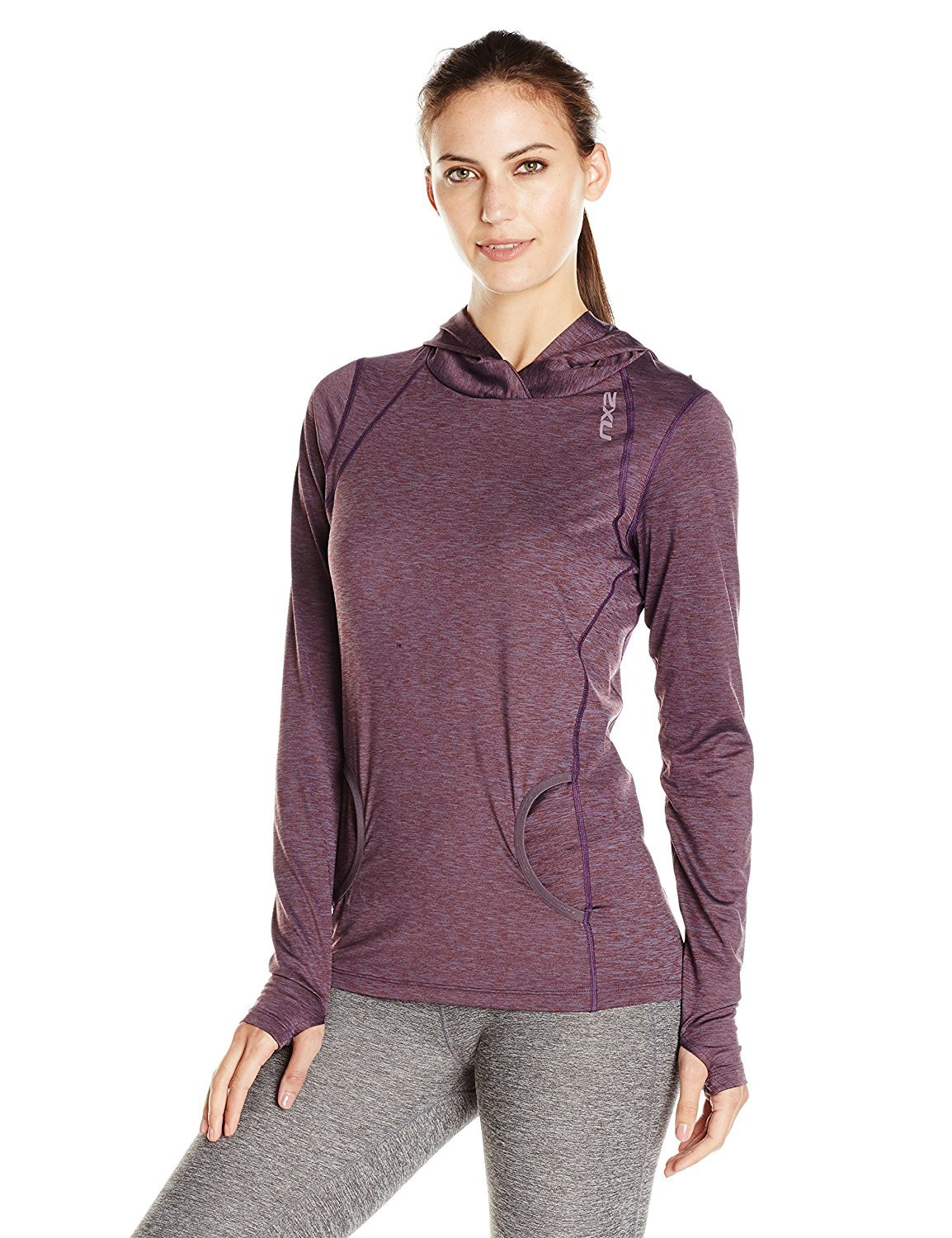 $80 NWOT 2XU Women's Movement Pullover hoodie Small purple