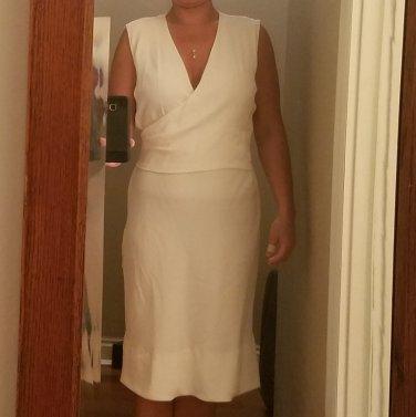 Worn once Viktor and Rolf wraparound white dress