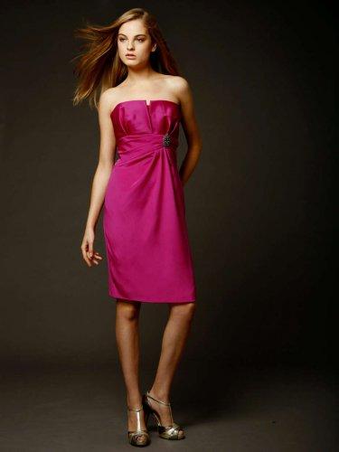 Badgley Mischka strapless cocktail dress, 6