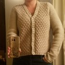 See by Chloe chunky knit cardigan made in Italy
