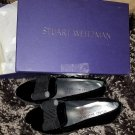 Stuart Weitzman Women's Atabow Tuxedo Loafer, 7