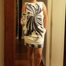 $4,000 Emilio Pucci all lambskin mosaic dress