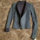 New with tags Rick Owens neoprene suede jacket