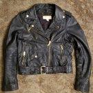 Worn once Michael Kors Navy blue moto jacket