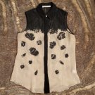 NWOT Jason Wu silk and lace embroidered blouse
